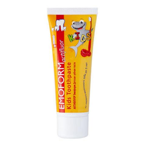 Детская зубная паста Актифлуор Эмоформ Emoform Dr.Wild, 75 мл