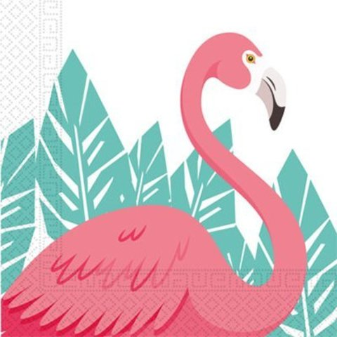 Салфетка Фламинго 33см 20шт/P