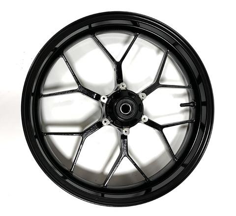 Передний колёсный диск Arashi для Honda CBR 600 RR 2013-2017 черный/золотой
