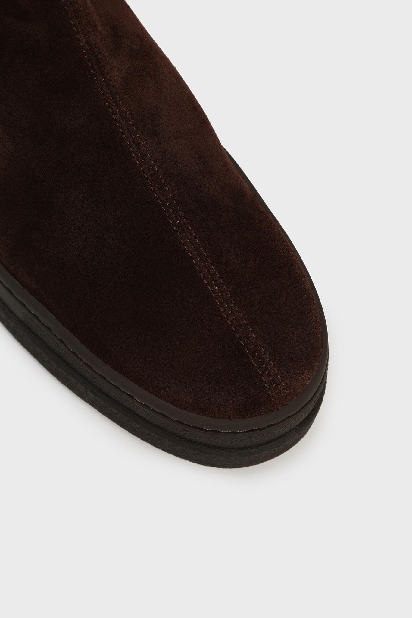 Мужские коричневые замшевые челси CREEK Gant