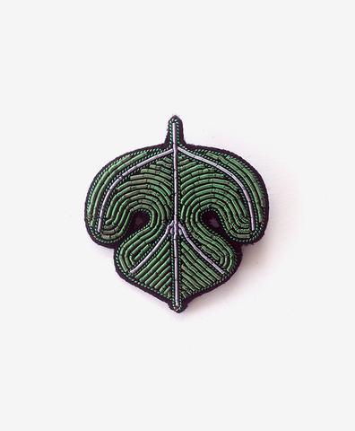 Брошь Fig Leaf