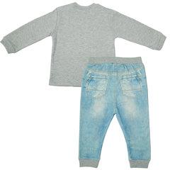 Папитто. Комплект кофточка в полоску и штанишки для мальчика FASHION JEANS вид 2