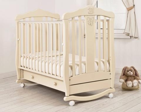 """Кровать детская К-2002-28 """"Доминик"""" Люкс (слоновая кость)"""