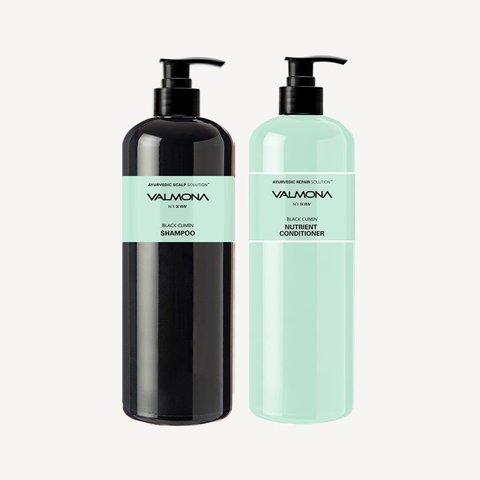 Аюрведический шампунь с черным тмином 100 мл Valmona Ayurvedic Scalp Solution Black Cumin Shampoo