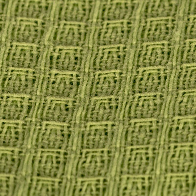 вафельная ткань салатовая