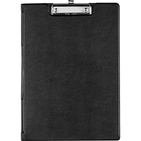 Папка-планшет Bantex A4 картонная черная с крышкой