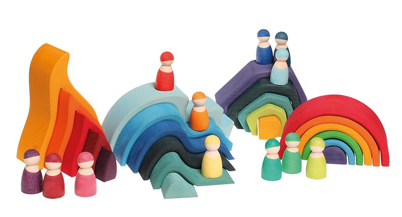 12 друзей цвета радуги