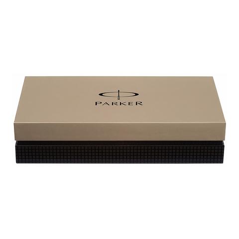 Parker Premier - Deluxe Graduated Chiselling GT, шариковая ручка, M