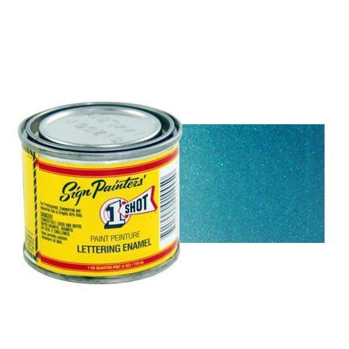 Эмали для пинстрайпинга 953-P Эмаль для пинстрайпинга 1 Shot Перламутровый голубой (Process Blue), 236 мл ProcessBluePerl.jpg