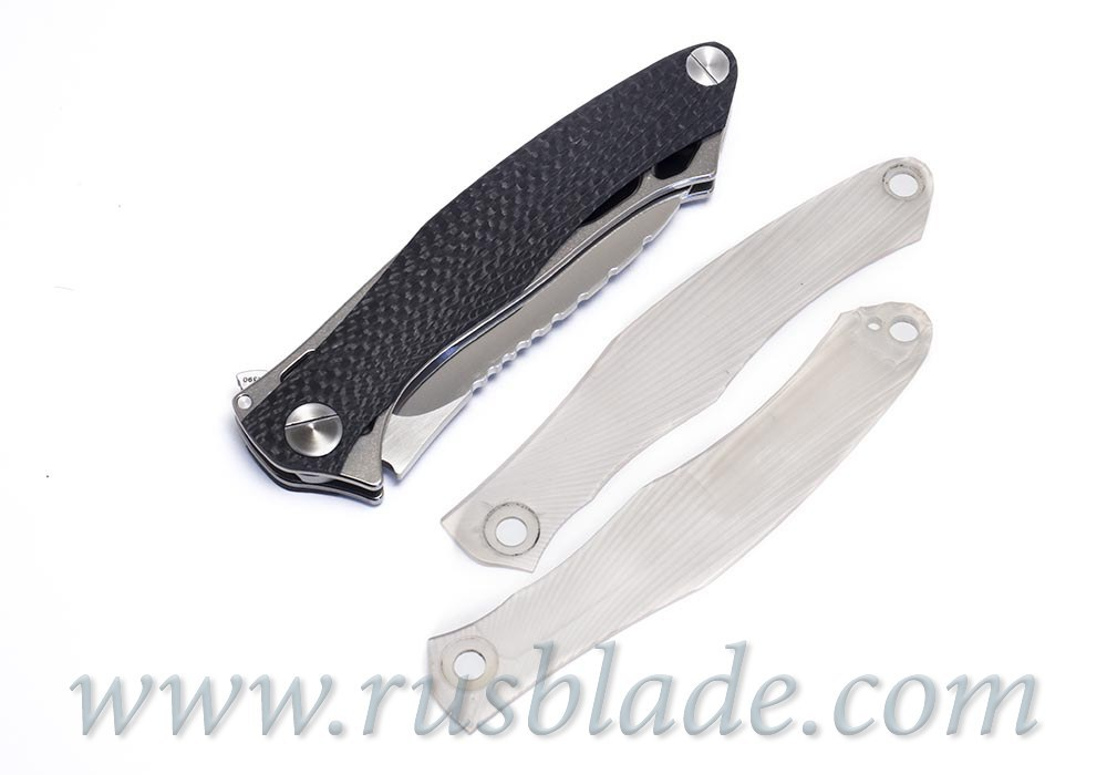 CKF Trekoza Carbon Fiber Customizing Knife Limited - фотография
