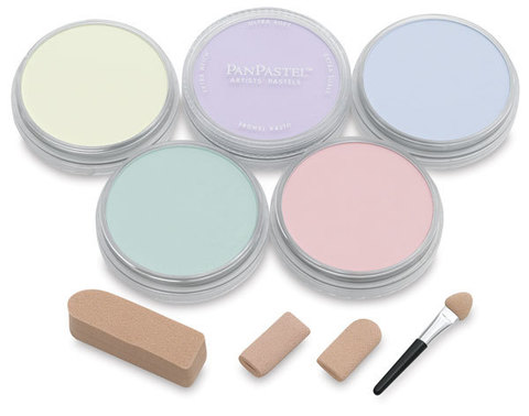 Набор ультрамягкой пастели PanPastel Ultra Soft Artist Pastel Set 9мл/ 5 шт- Tint