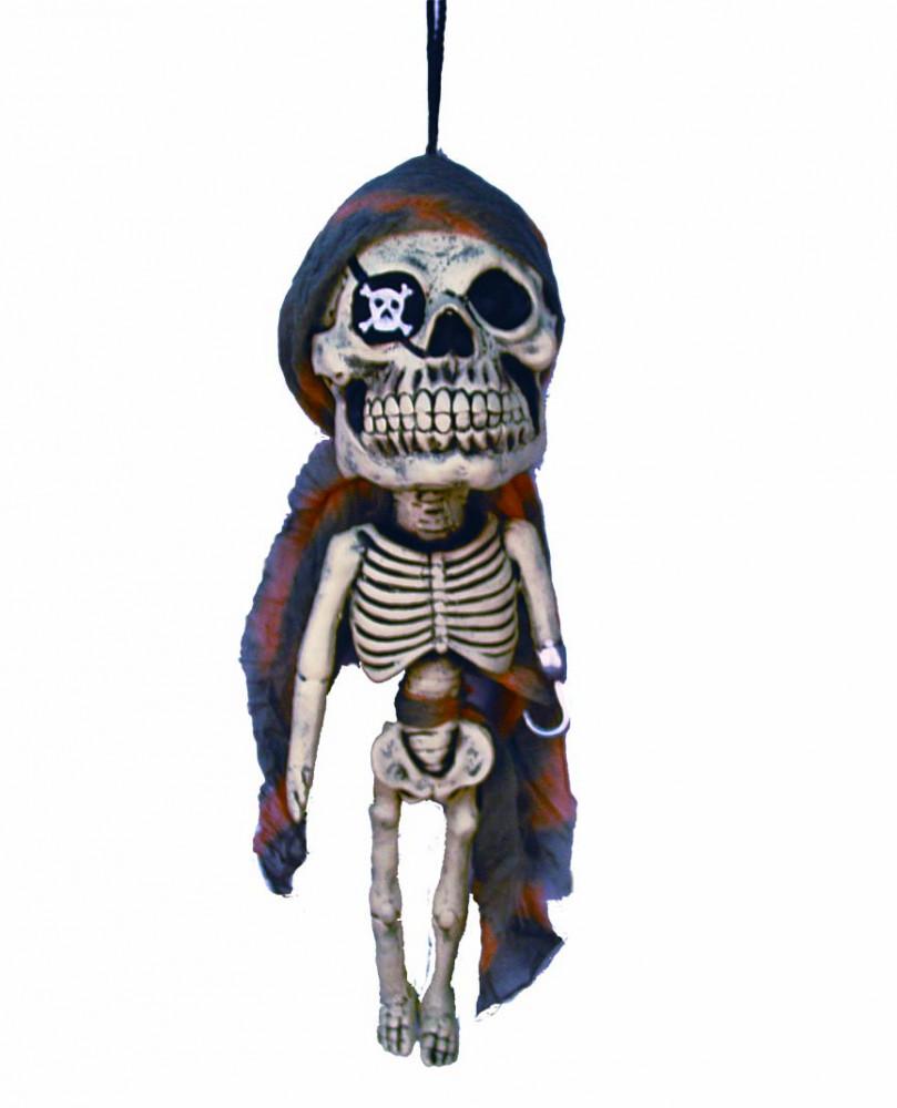 Скелет Пирата висящий 12*50 см
