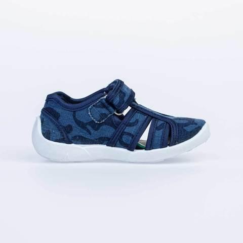 Туфли синие хаки  Котофей (ТК Луч)