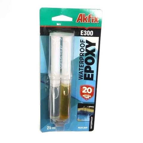Клей эпоксидный Akfix Е300 водостойкий