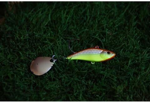 Тейл-спинер Top Tail ручной работы Fire Fish цвет 003