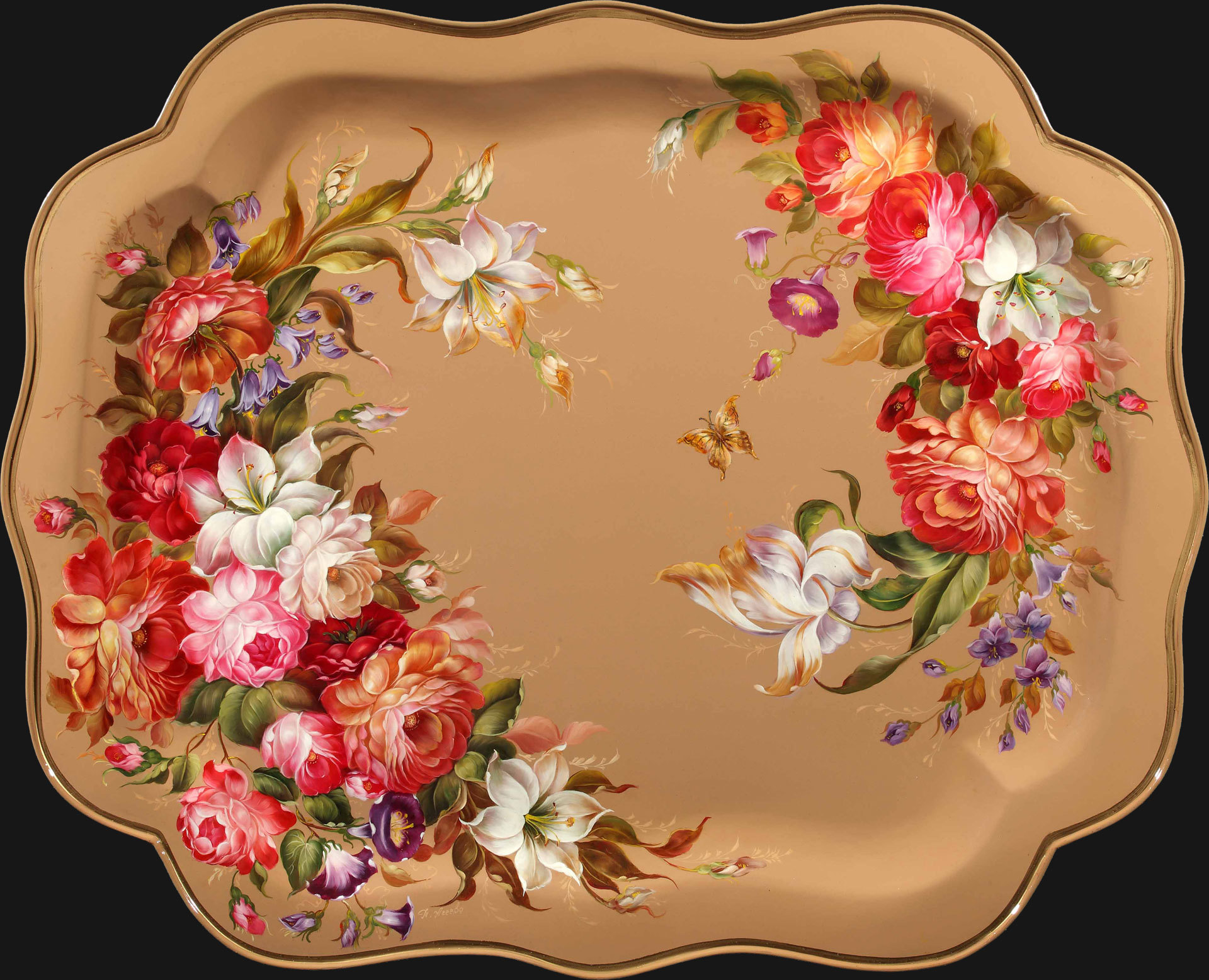 Flowers garland