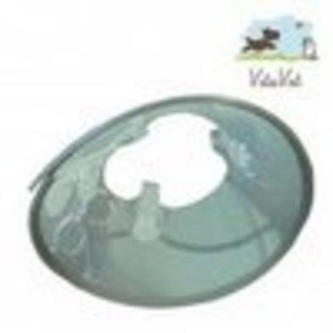 Воротник защитный на пластиковой застежке XXXXL, 30 см