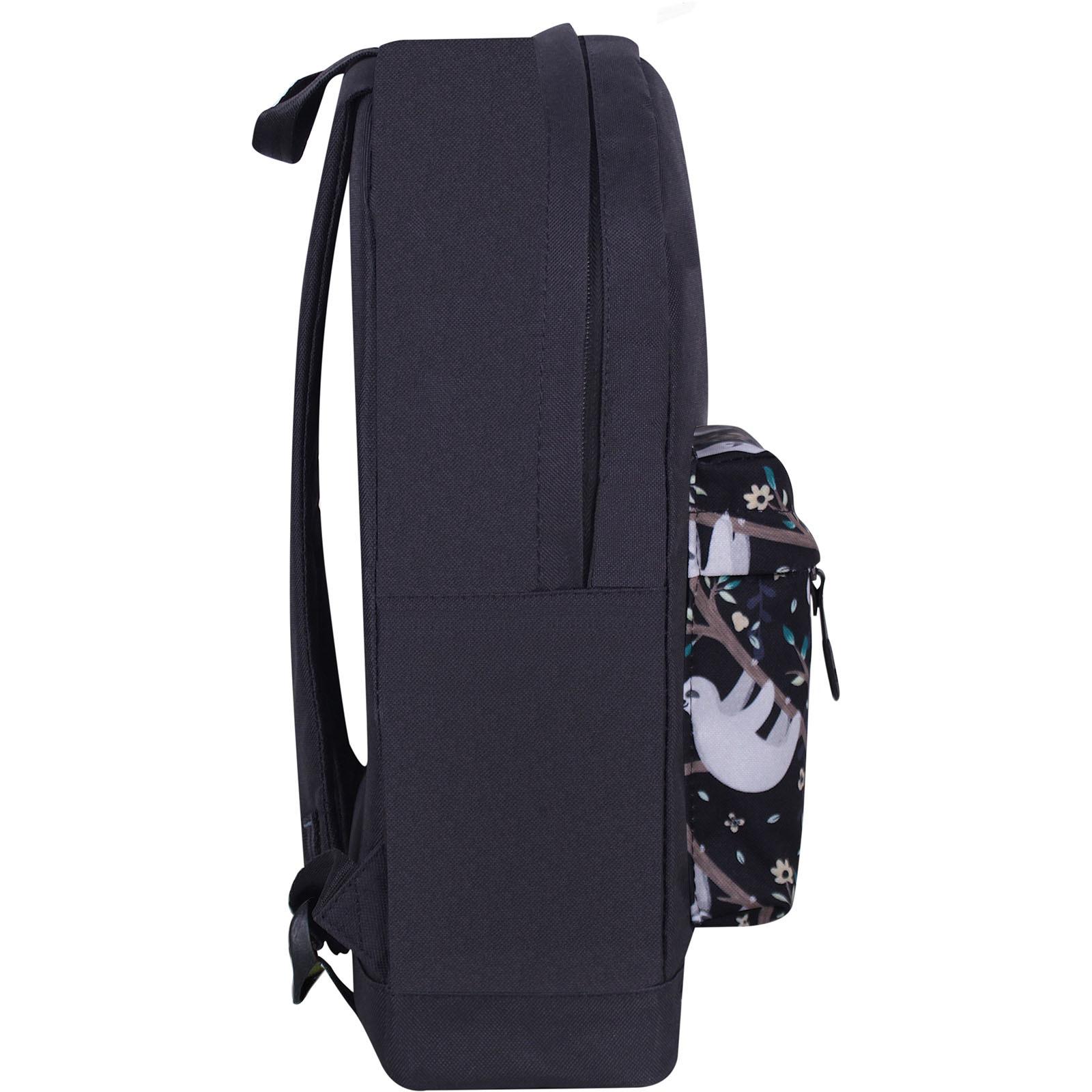 Рюкзак Bagland Молодежный W/R 17 л. Черный 760 (00533662) фото 2