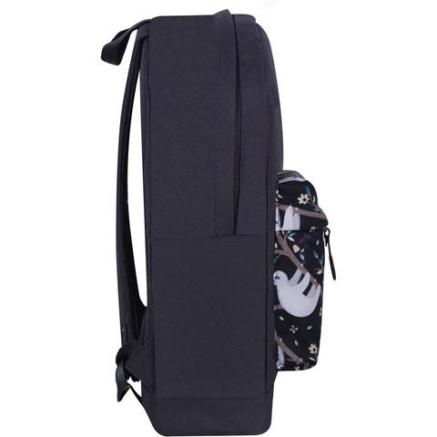 Рюкзак Bagland Молодежный W/R 17 л. Черный 760 (00533662)