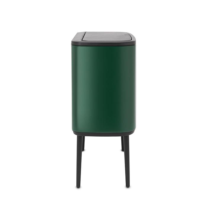 Мусорный бак Touch Bin Bo (11 л + 23 л), Зеленая сосна, арт. 304187 - фото 1
