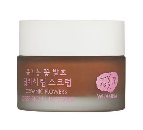 Whamisa Organic Flowers Deep Rich Lip Scrub