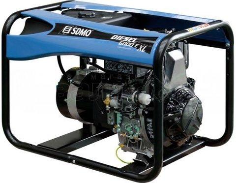 Дизельный генератор SDMO DIESEL 6000 E XL