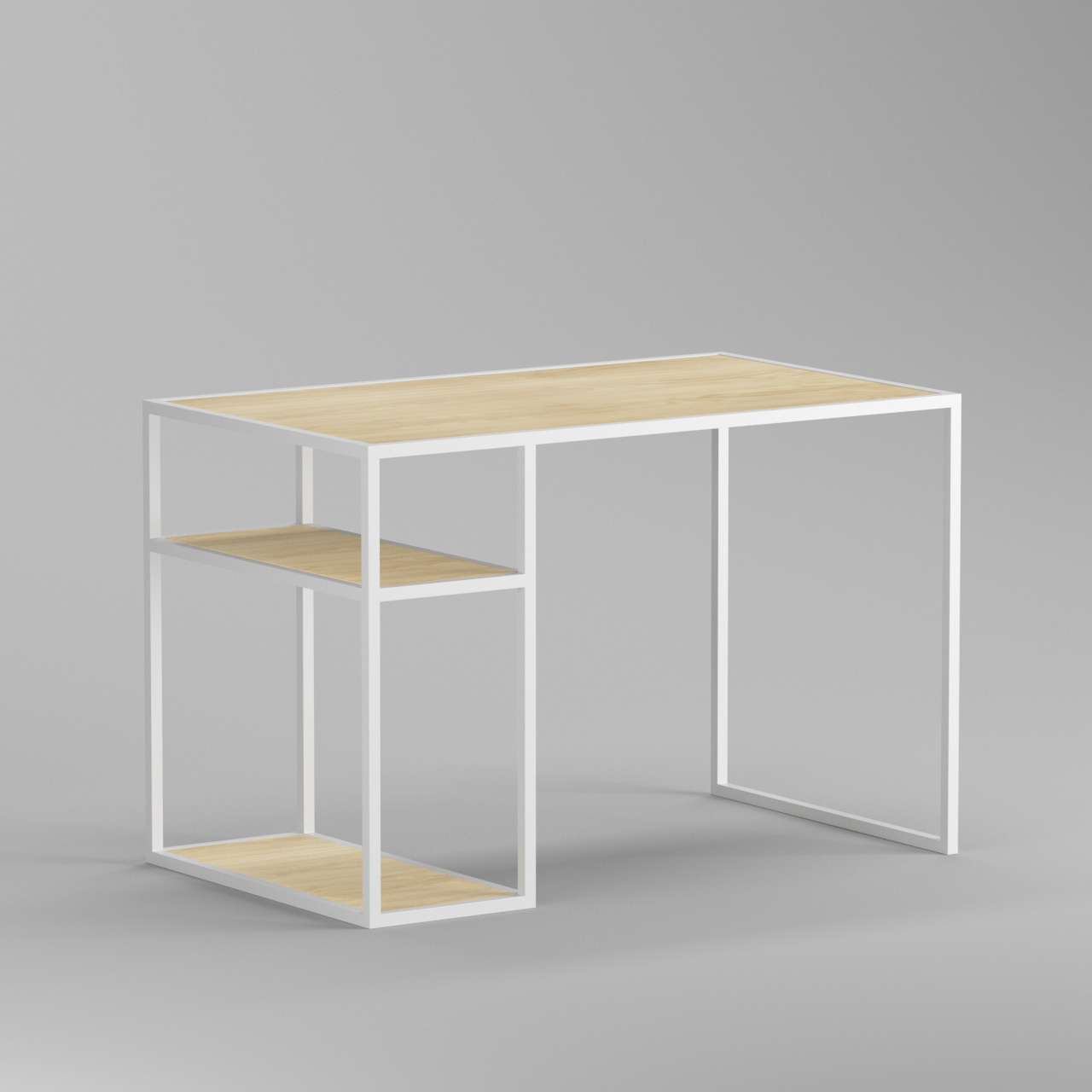 Рабочий стол Romero white - вид 5