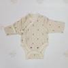 Боди с принтом - цвет экрю для маловесных и недоношенных детей