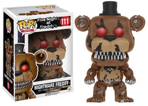 Фигурка Funko POP! Vinyl: Games: FNAF: Nightmare Freddy 11064