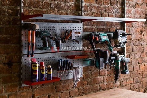 Набор №31 Кронштейны для полок, крепления для инструментов