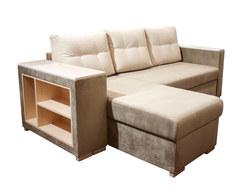 Карелия-Люкс угловой диван 1я2д с полками