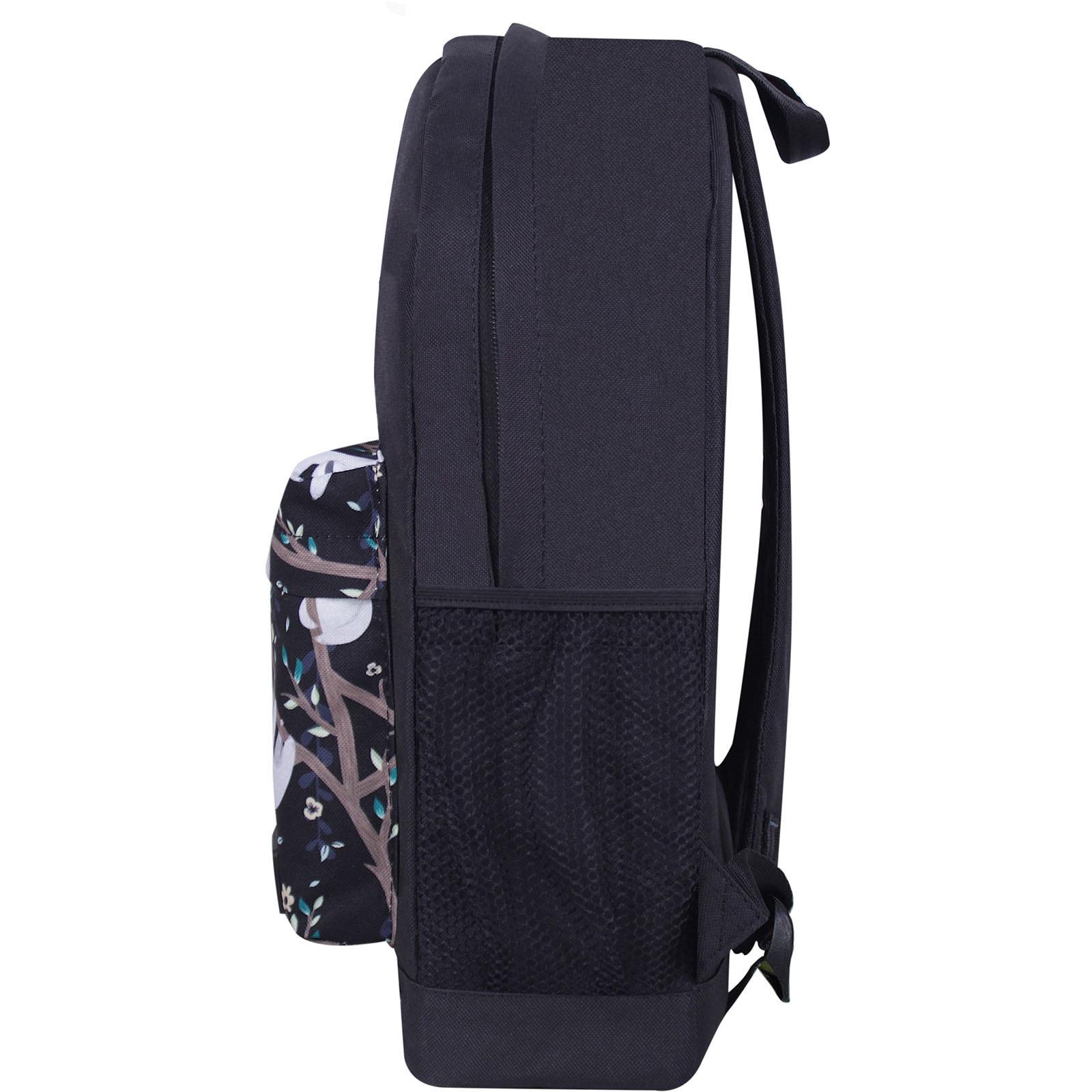 Рюкзак Bagland Молодежный W/R 17 л. Черный 760 (00533662) фото 3