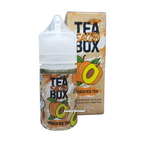 Жидкость Tea Box Salt 30 мл Peach Ice Tea