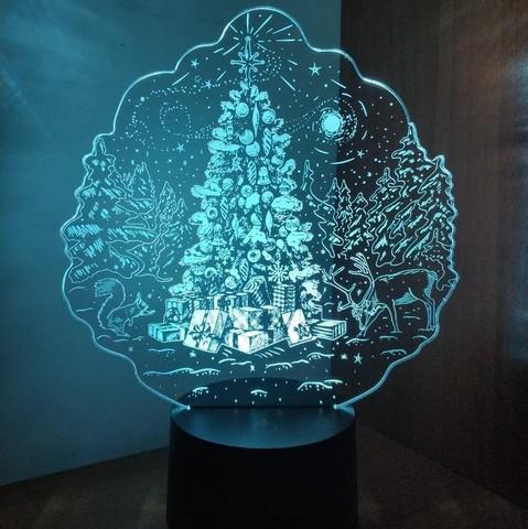 Новогодняя ёлочка с подарками
