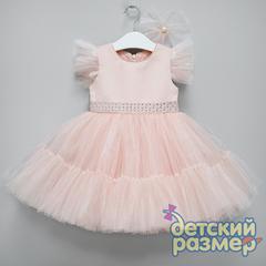 Платье (заколка, стразы)
