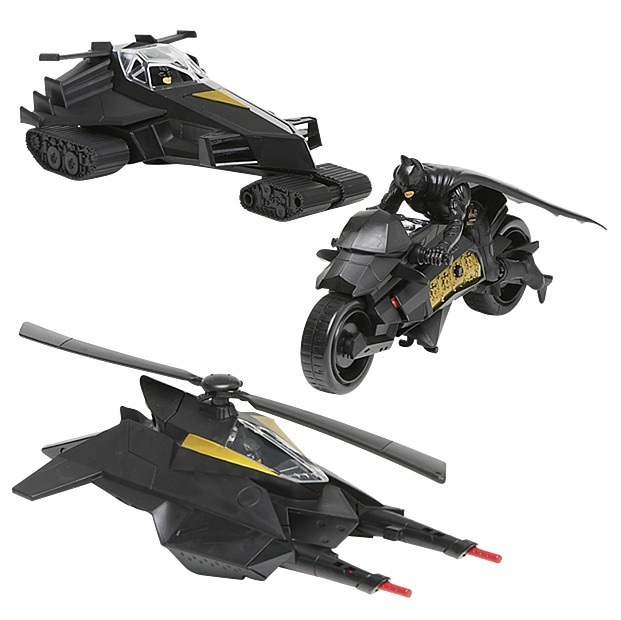 Dark Knight Rises Squadron Vehicle Pack Exclusive