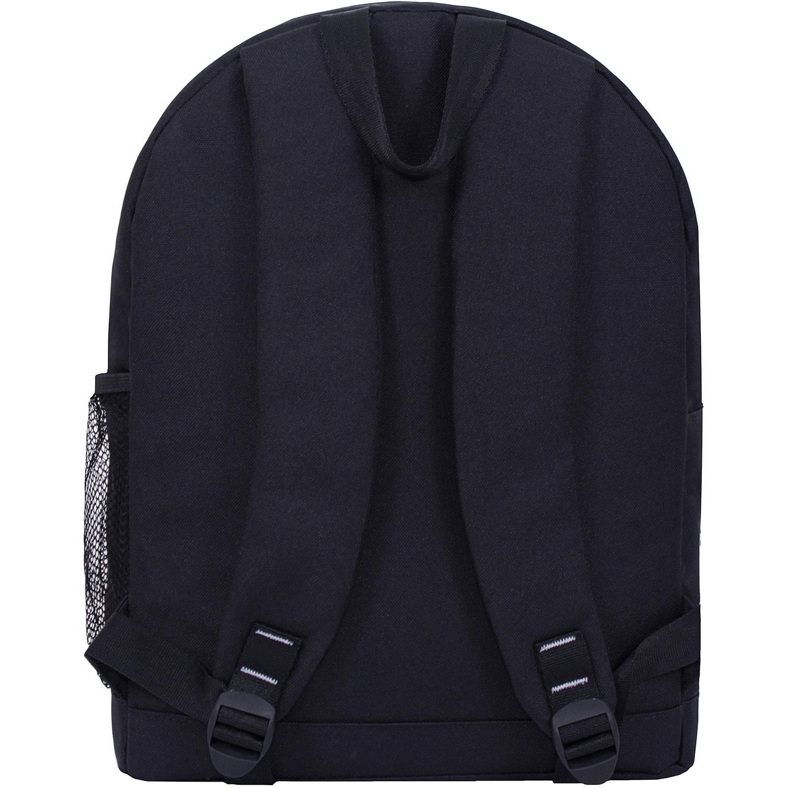 Рюкзак Bagland Молодежный W/R 17 л. Черный 760 (00533662) фото 4