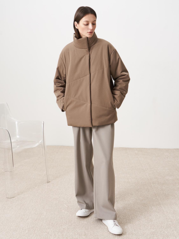 Куртка Базель с косой стежкой