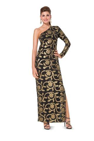 Выкройка Burda (Бурда) 6943 — Вечернее платье