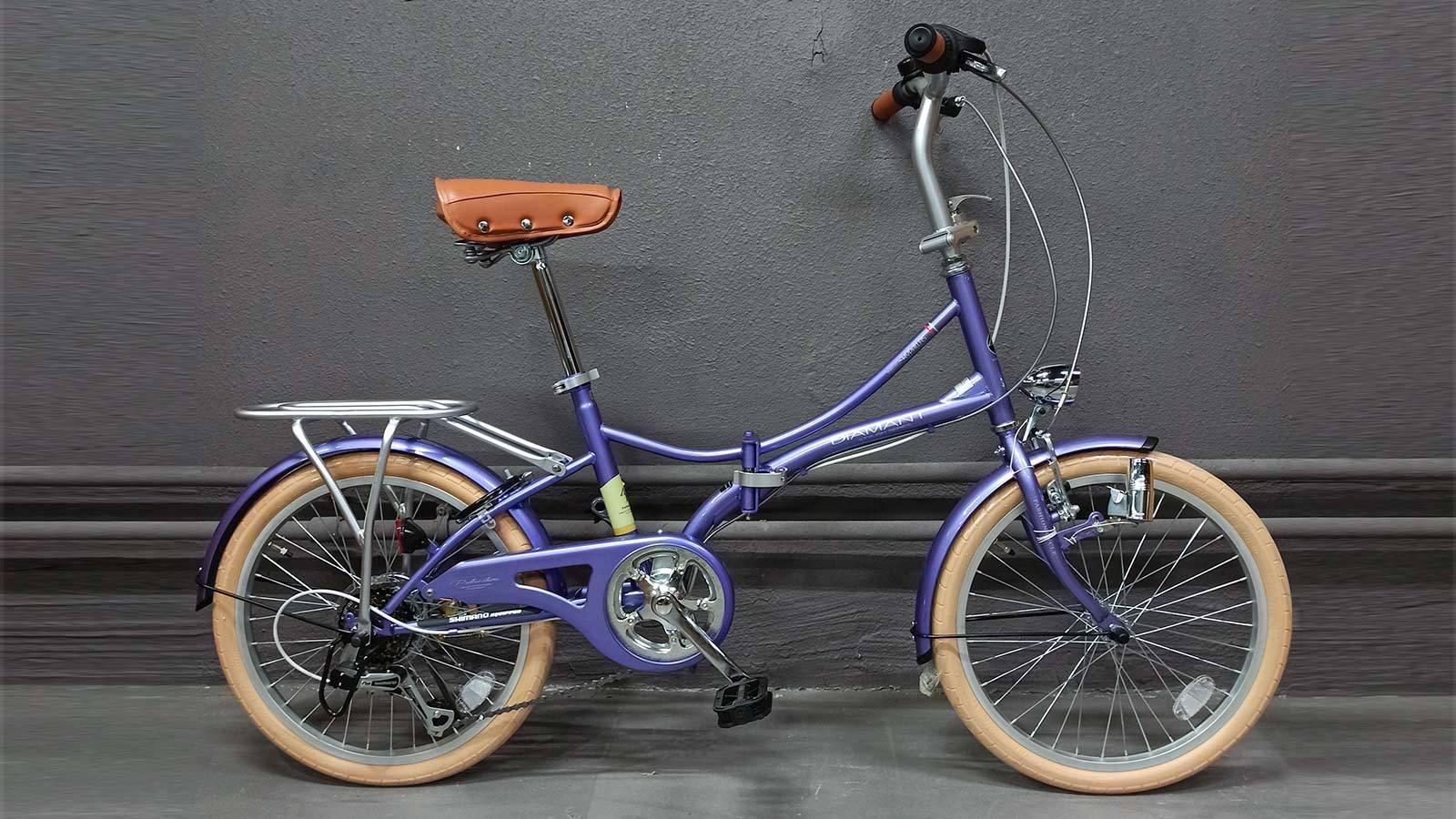 Велосипед складной MyPallas M260 лавандовый