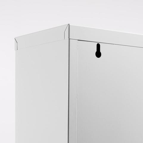 Белый шкаф для обуви Zapatero