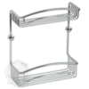 Решетка двойная с галереей 25см. Migliore Complementi H30xL25xP10 cm ML.COM-50.602