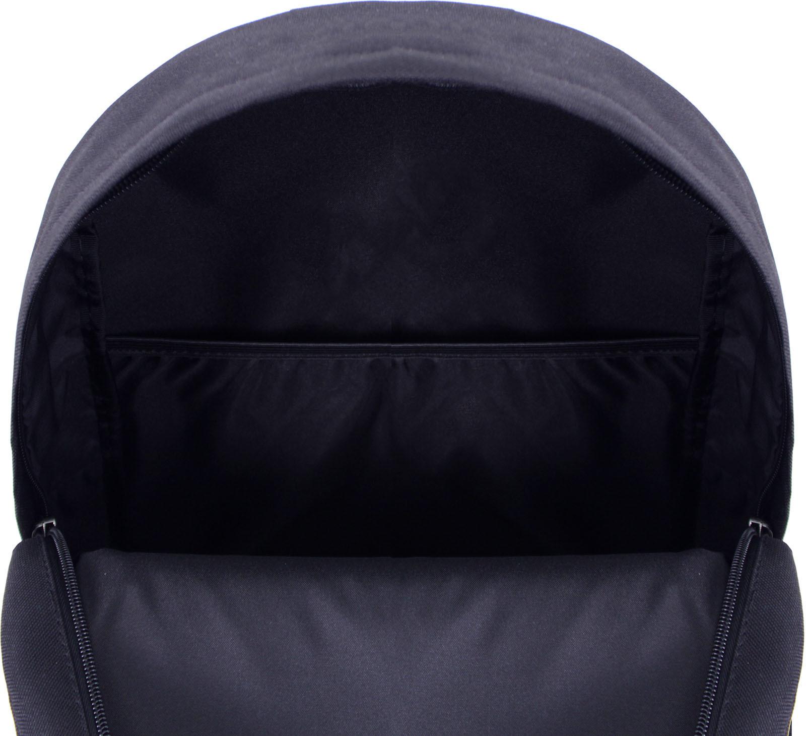 Рюкзак Bagland Молодежный W/R 17 л. Черный 760 (00533662) фото 5