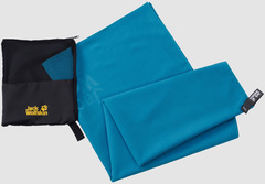 Полотенце быстросохнущее Jack Wolfskin Great Barrier Towel Xl turquoise