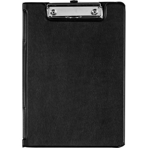 Папка-планшет Bantex A5 картонная черная с крышкой