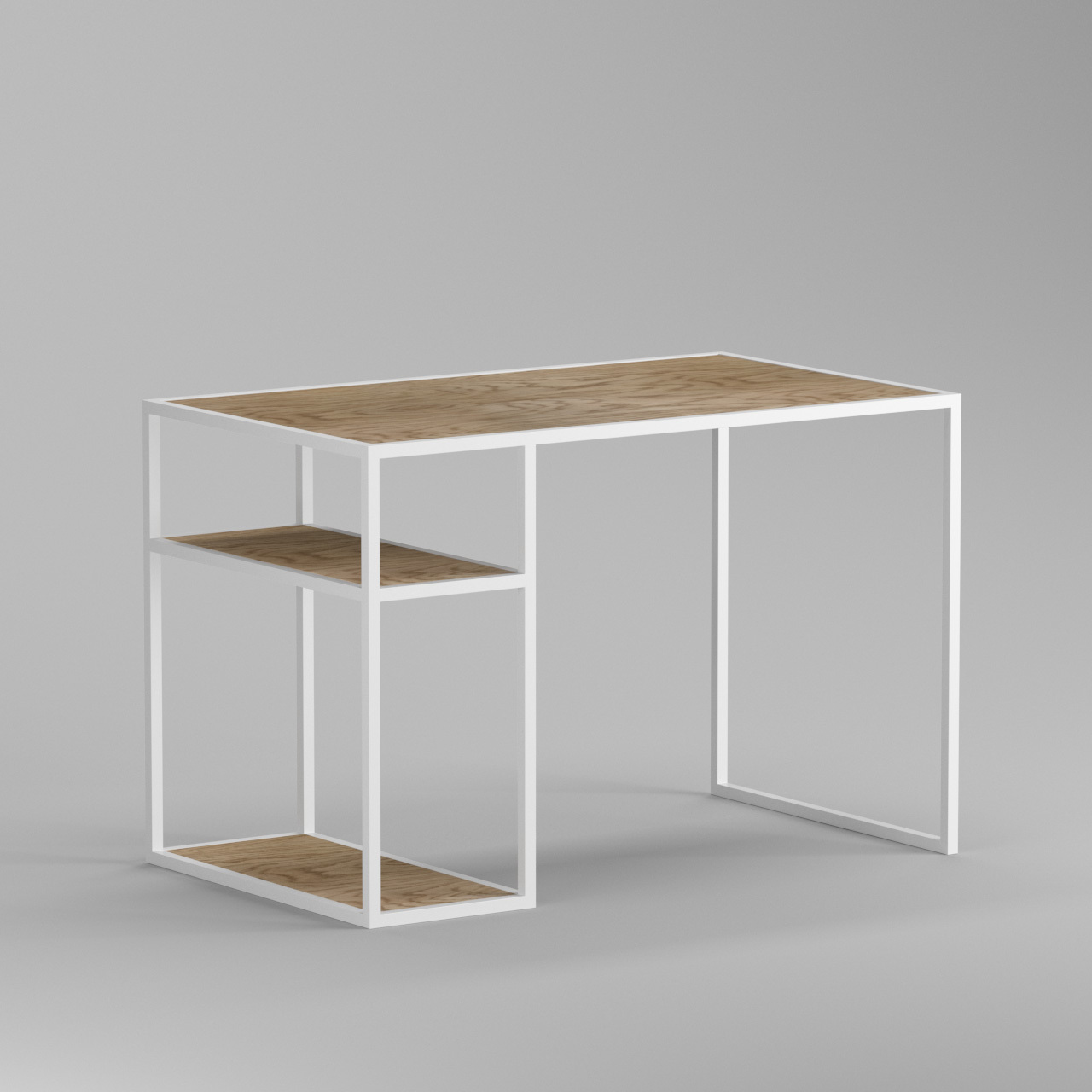 Рабочий стол Romero white - вид 7