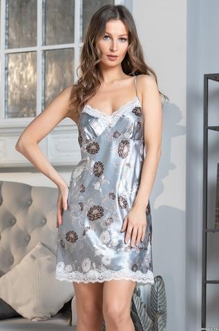 Сорочка женская Mia-Amore PARIS PIONS ПАРИЖ ПИОН 8990 серый
