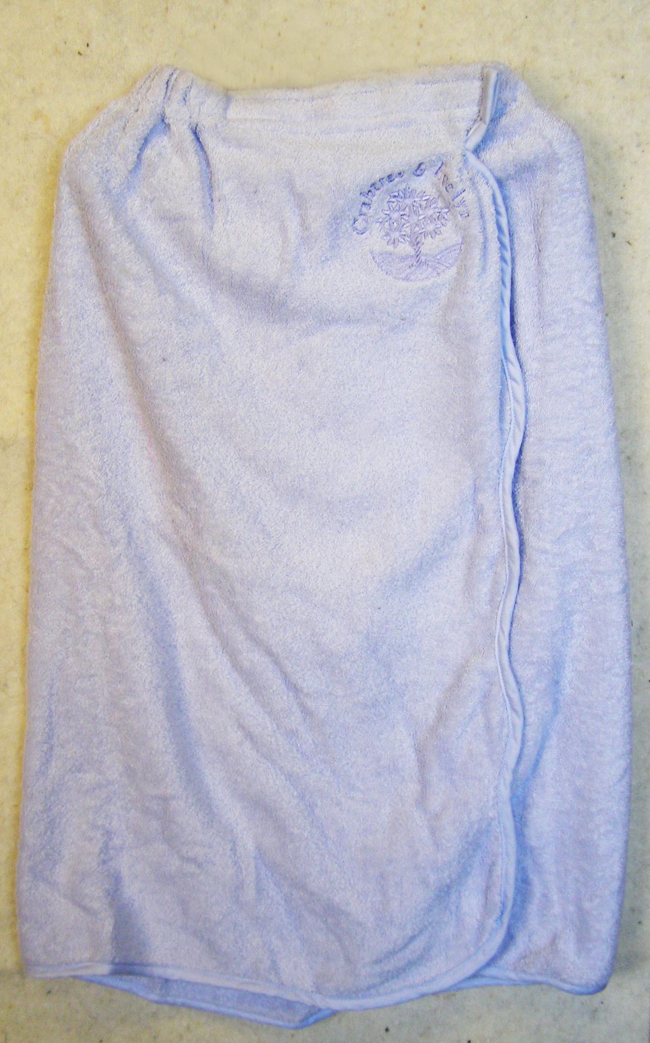 Парео женское с вышивкой махровое
