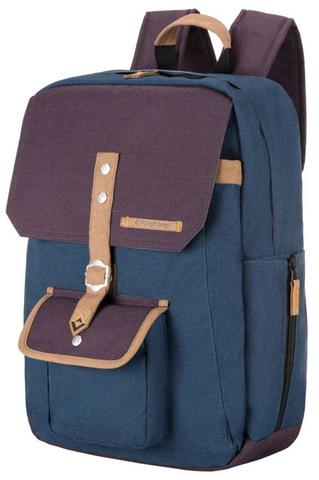 Картинка рюкзак городской Kingcamp Glacier 12 тёмно-синий - 1