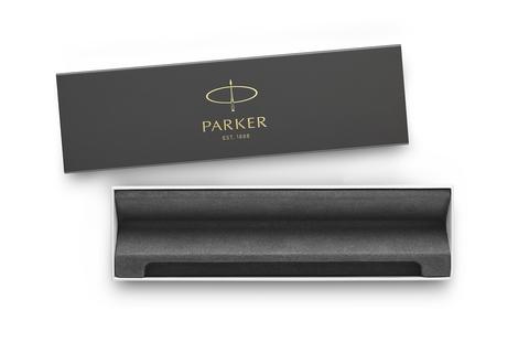 Ручка-роллер Parker Jotter Original T60 Black СT ( чернила черные) в подарочной коробке123